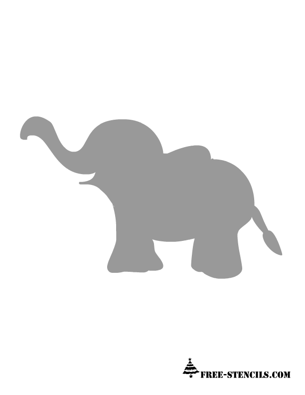 Gray Baby Elephant PNG Transparent Gray Baby Elephant.PNG.