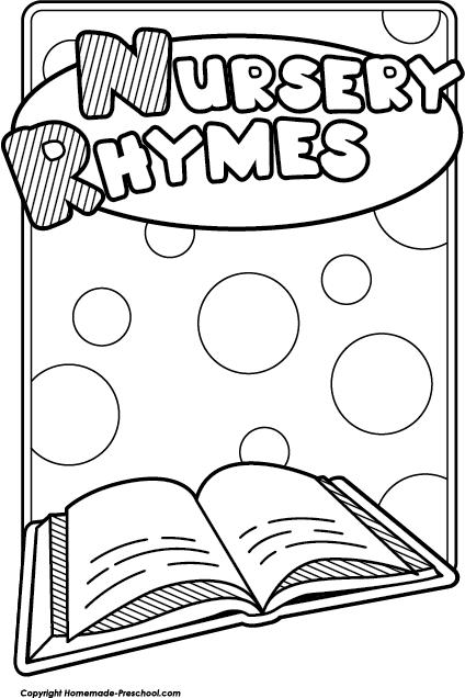 Free Nursery Rhymes Clipart.