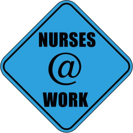 Nurses At Work Clipart.
