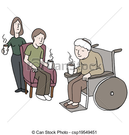 Nursing home clipart #18