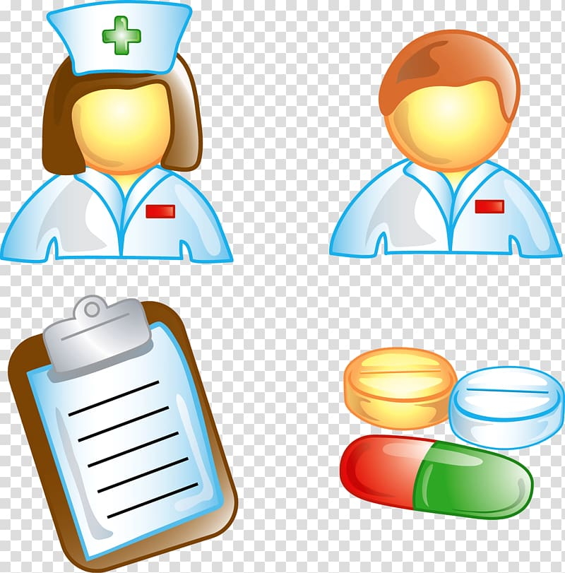 Nursing Computer Icons Nurse\\\'s cap , doctors and nurses.