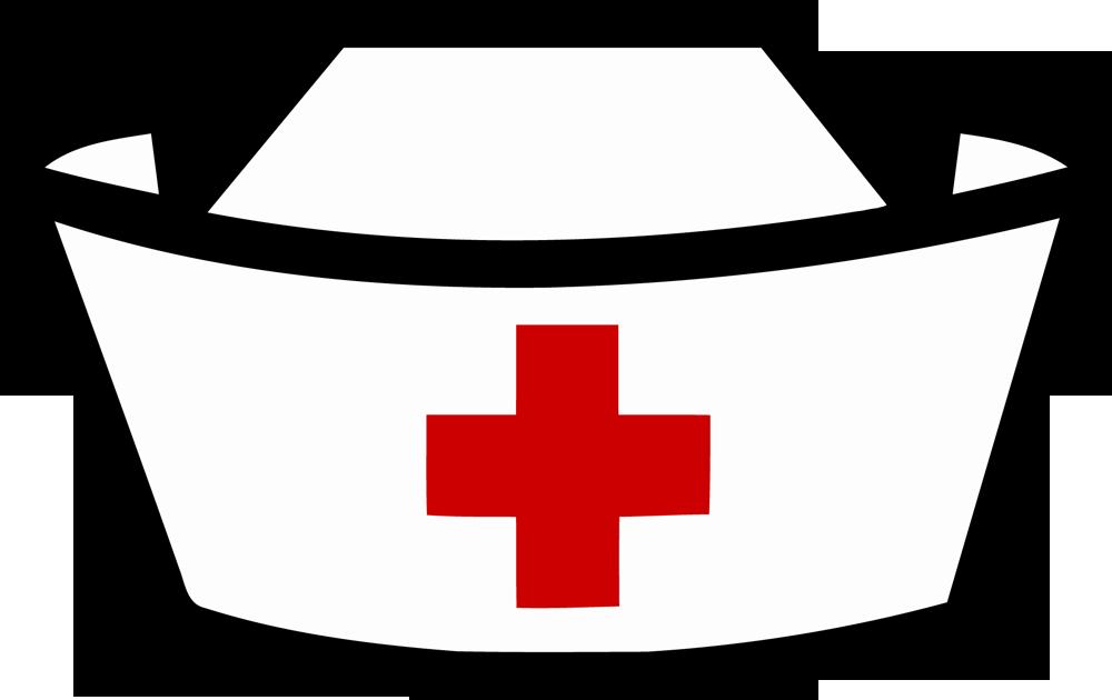 143 Nurse Hat free clipart.