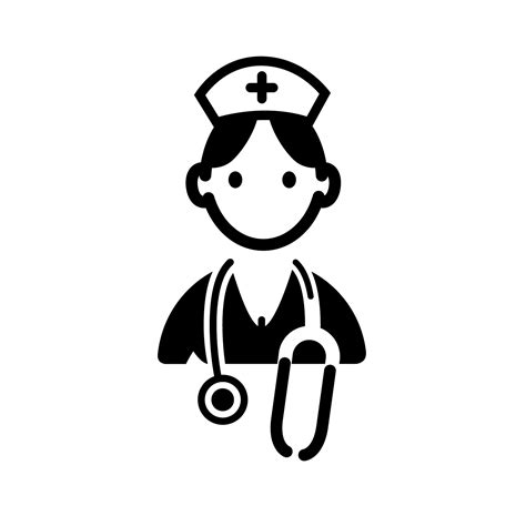 Symbol Clipart Nurse Pencil And In Color Symbol Clipart.
