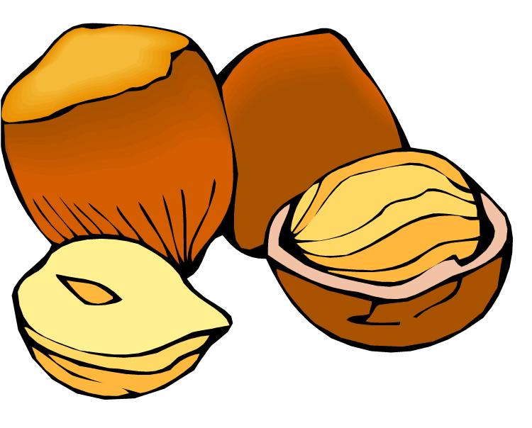 Nuts clip art.