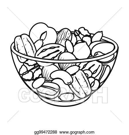 Nuts Clipart Black And White (96+ images in Collection) Page 1.