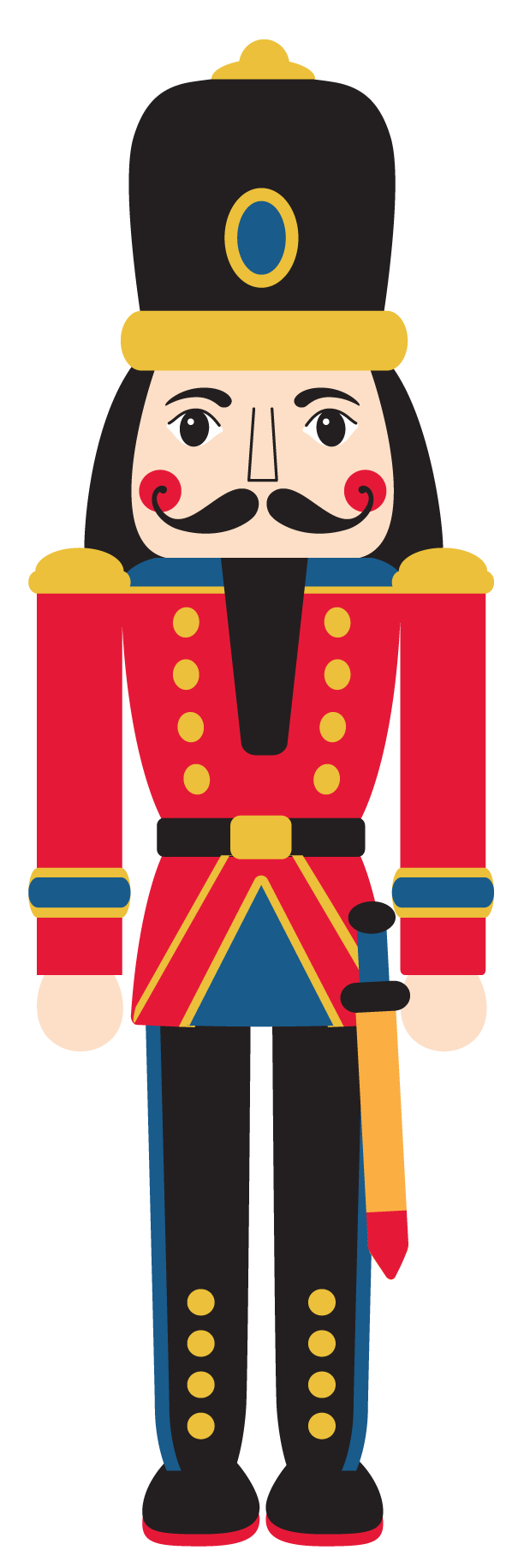 Head clipart nutcracker, Head nutcracker Transparent FREE.