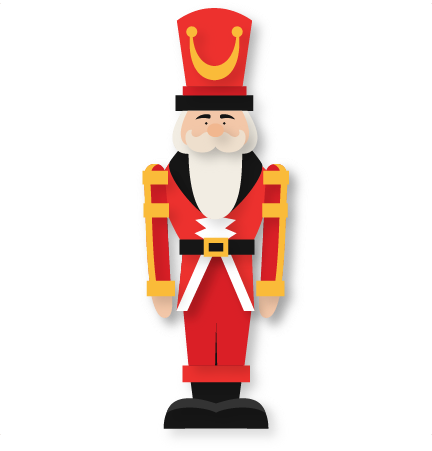 Nutcracker SVG scrapbook cut file cute clipart files for.