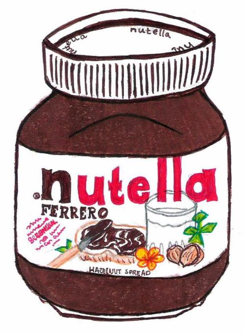 Transparent Nutella Tumblr #peATBQ.