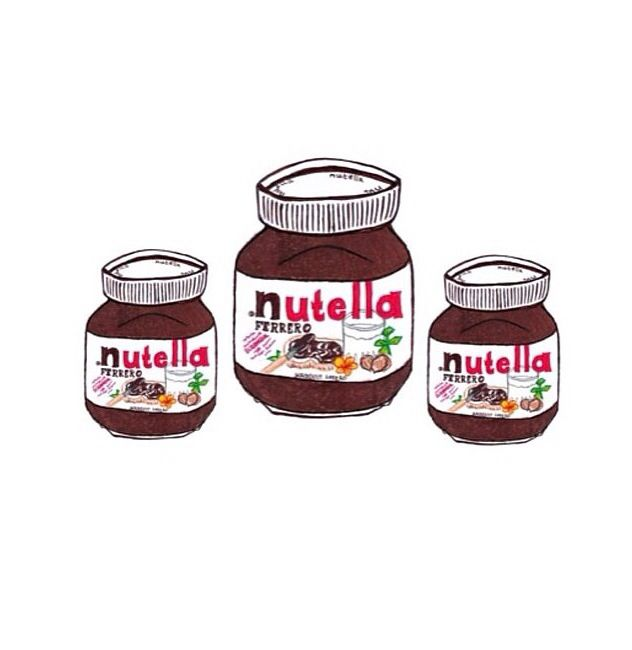 1000+ images about Nutella and chocolates illustrations on.