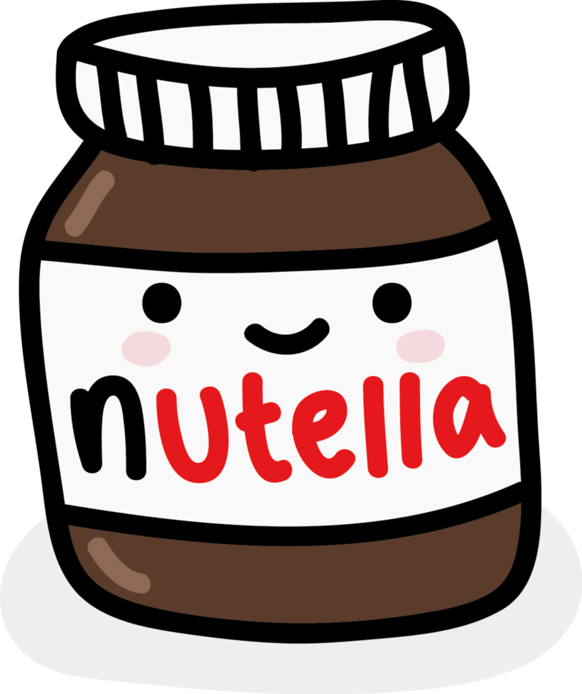 Clipart Nutella.