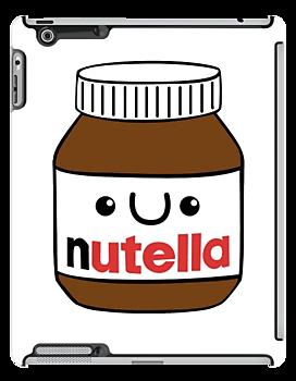 Nutella jar clipart.