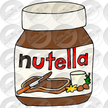 Nutella Picture for Classroom / Therapy Use.