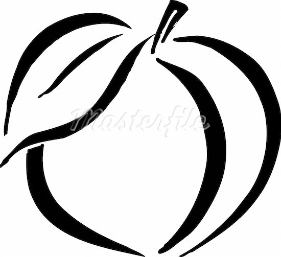 Healthy Food Clipart Black And White.