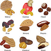 Nuts Clip Art Royalty Free. 8,772 nuts clipart vector EPS.
