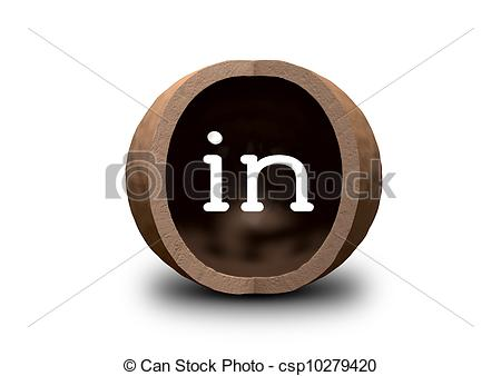 Stock Photo of In A Nutshell.
