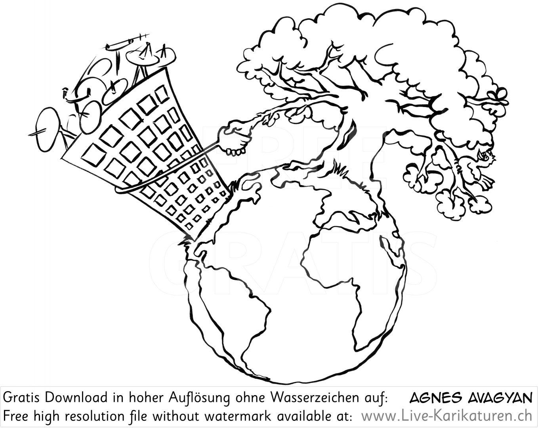 Erde Oekologie Umweltschutz Nachhaltigkeit.