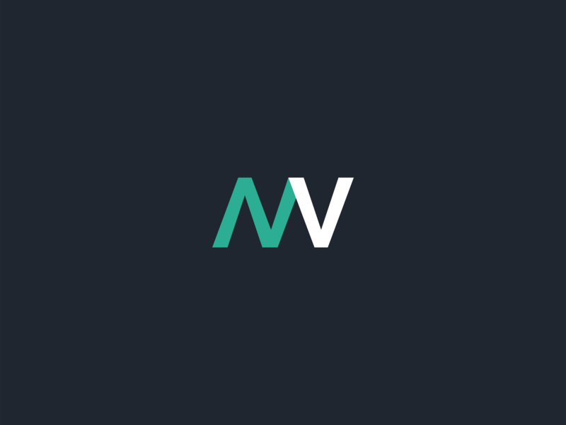 NV Logo by Olly on Dribbble.