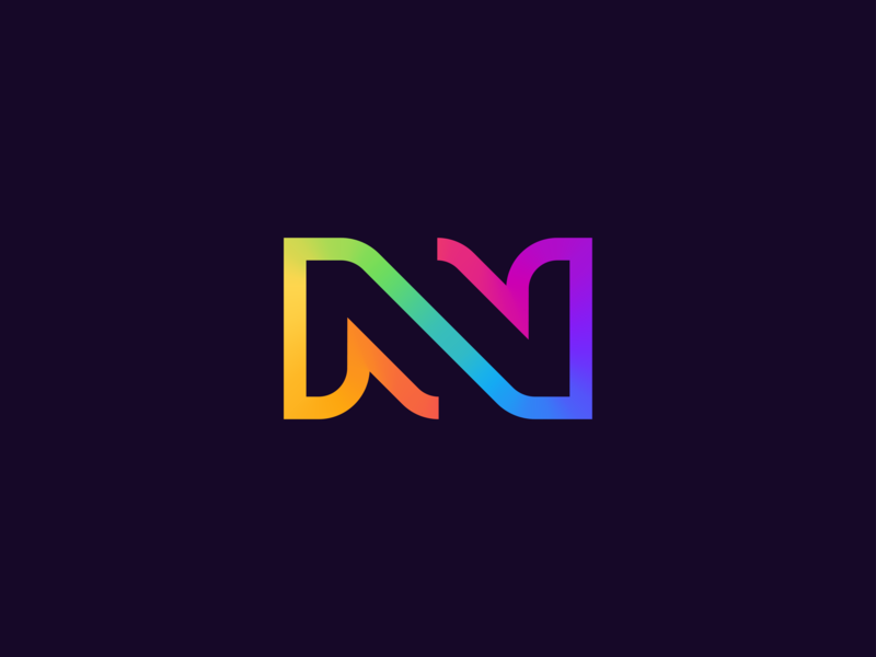 NV Logo Exploration by Victor Murea on Dribbble.