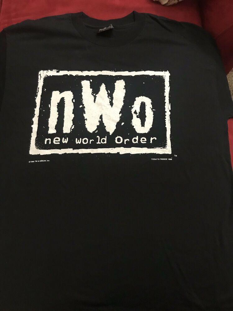 Vintage nWo 1998 Shirt Size XL Pro Wrestling WCW WWE WWF AEW.