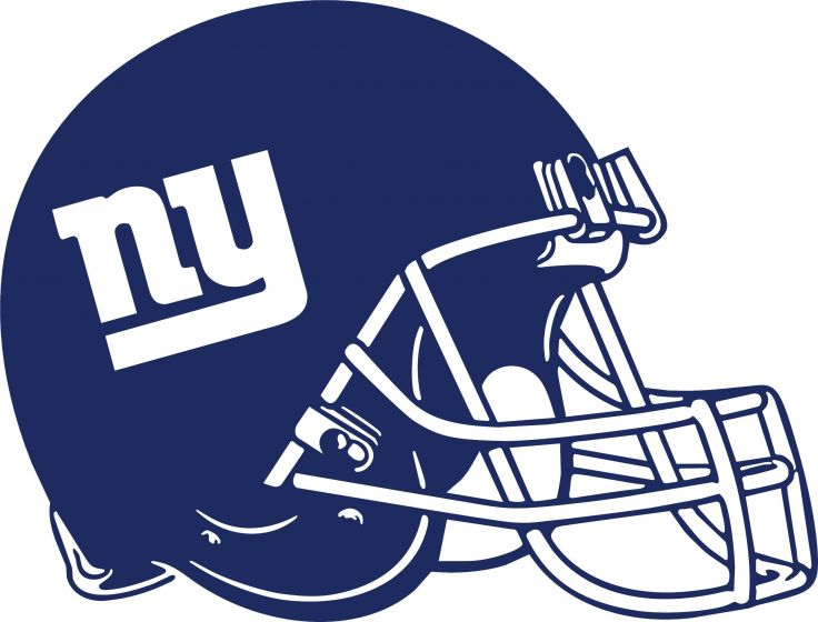 Ny giants helmet clipart 1 » Clipart Station.