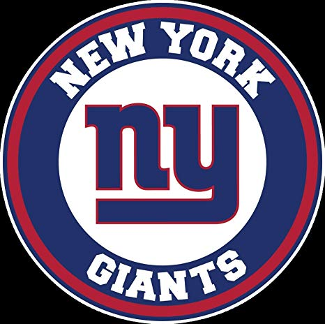 Amazon.com: Circle New York Giants Logo Vinyl Decal NY.