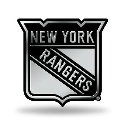 New York NY Rangers Logo Official NHL Licensed Molded Self.