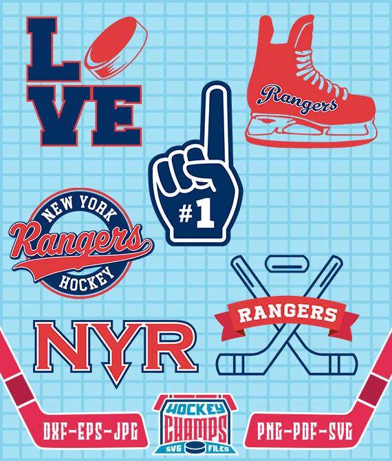 New York Rangers Clipart.