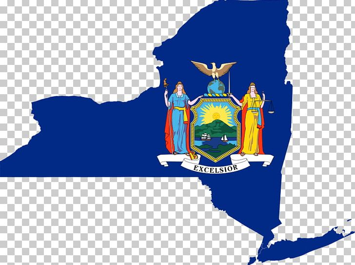 New York City Coat Of Arms Of New York State Flag.