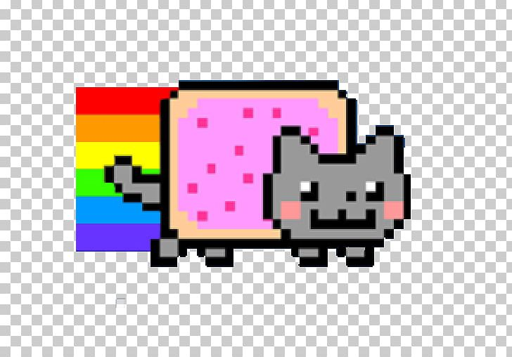 Nyan Cat YouTube Color PNG, Clipart, Animals, Area, Cat.