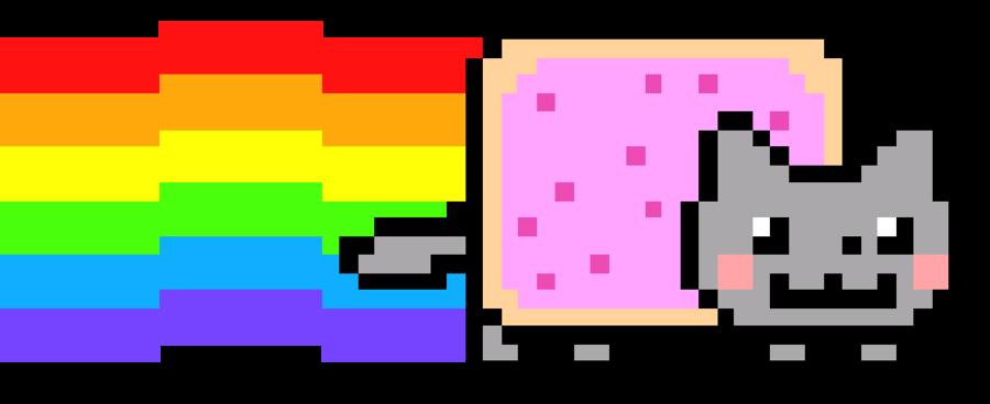 Nyan Cat Clip art.