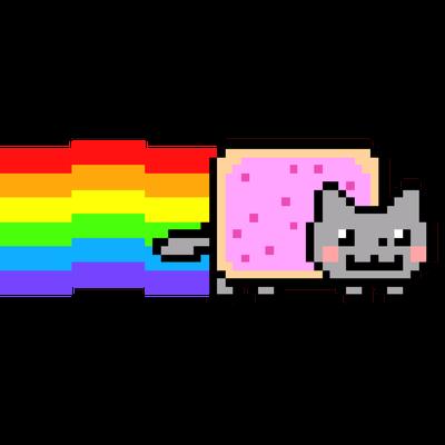 Nyan Cat transparent PNG images.