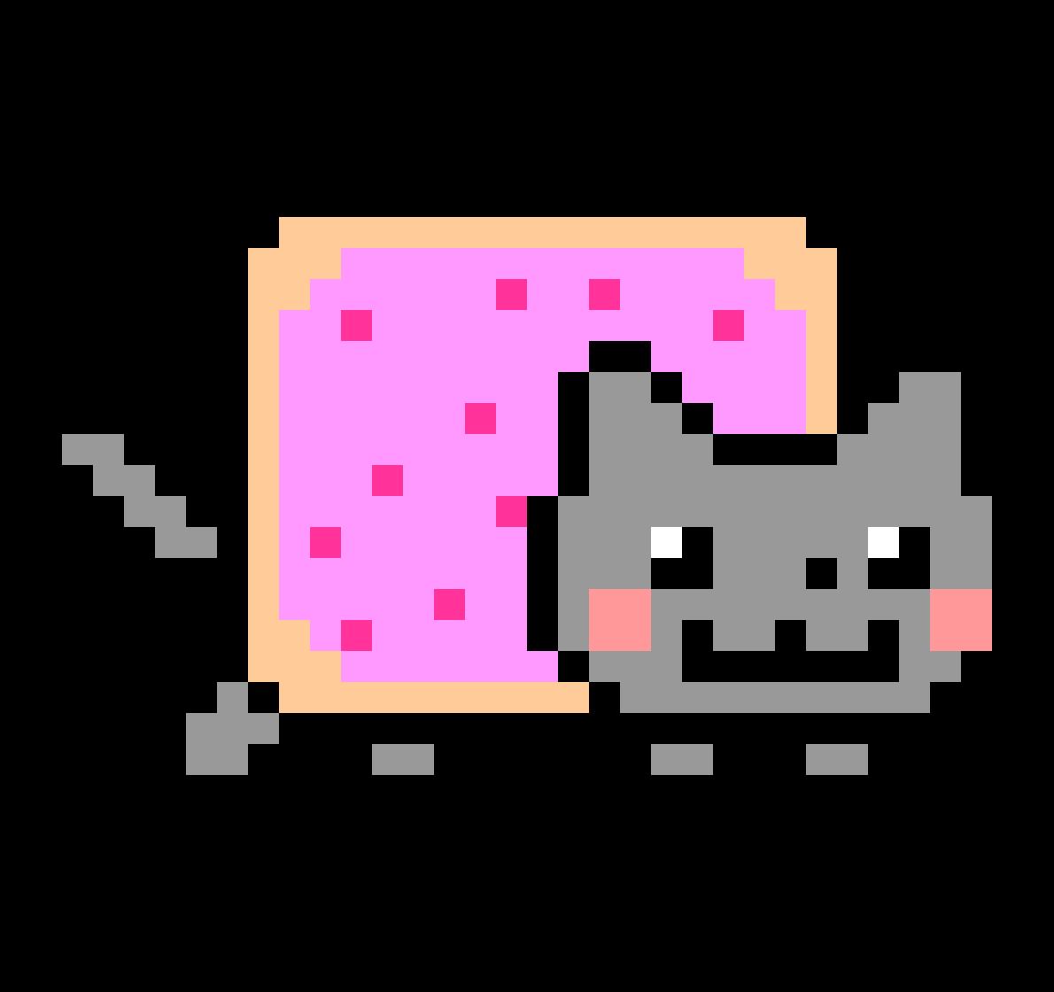 Nyan Cat GIF YouTube Image.