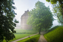 Nyborg Castle, Denmark. 800 Years Stock Images.