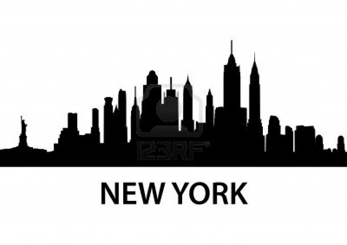 Nyc skyline clipart free.