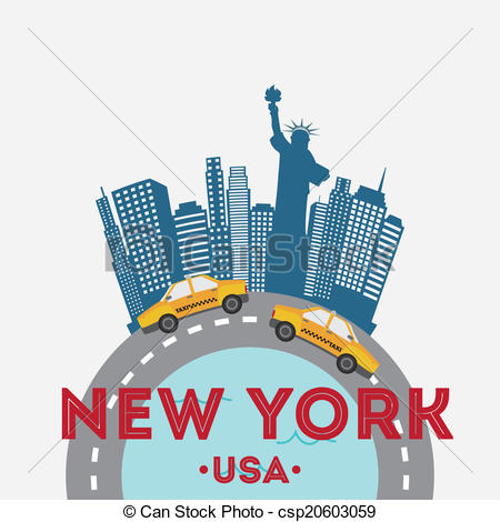 Nyc Vector Clipart EPS Images. 1,248 Nyc clip art vector.