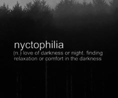 Nyctophilia Clipart.