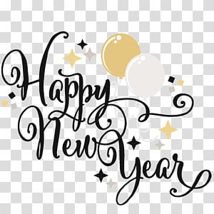 New years eve PNG clipart images free download.