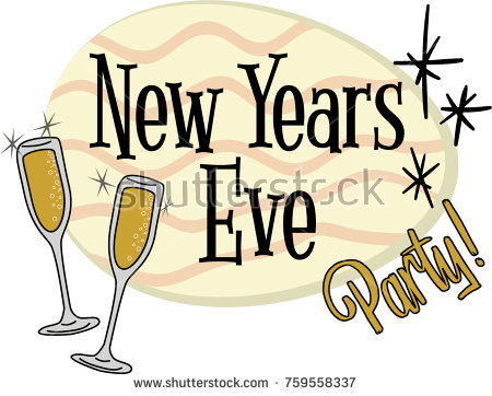 1125 New Years Eve free clipart.