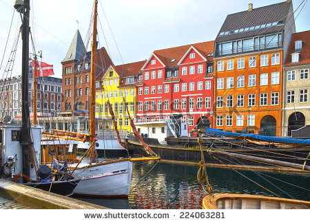 Denmark Yacht Stock Images, Royalty.