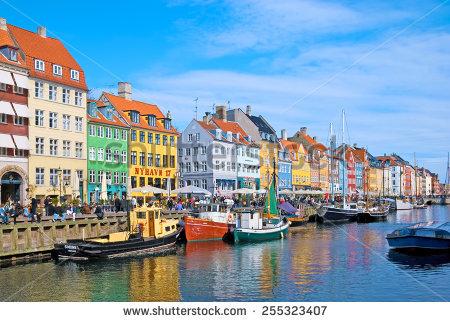 Nyhavn new harbour clipart #6