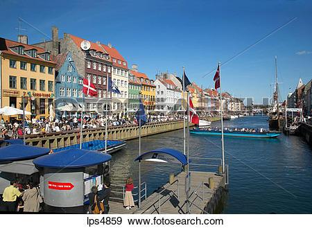 Nyhavn new harbour clipart #19