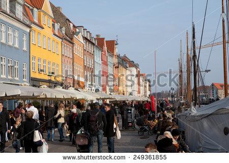 Copenhagen Seafront Stock Photos, Royalty.