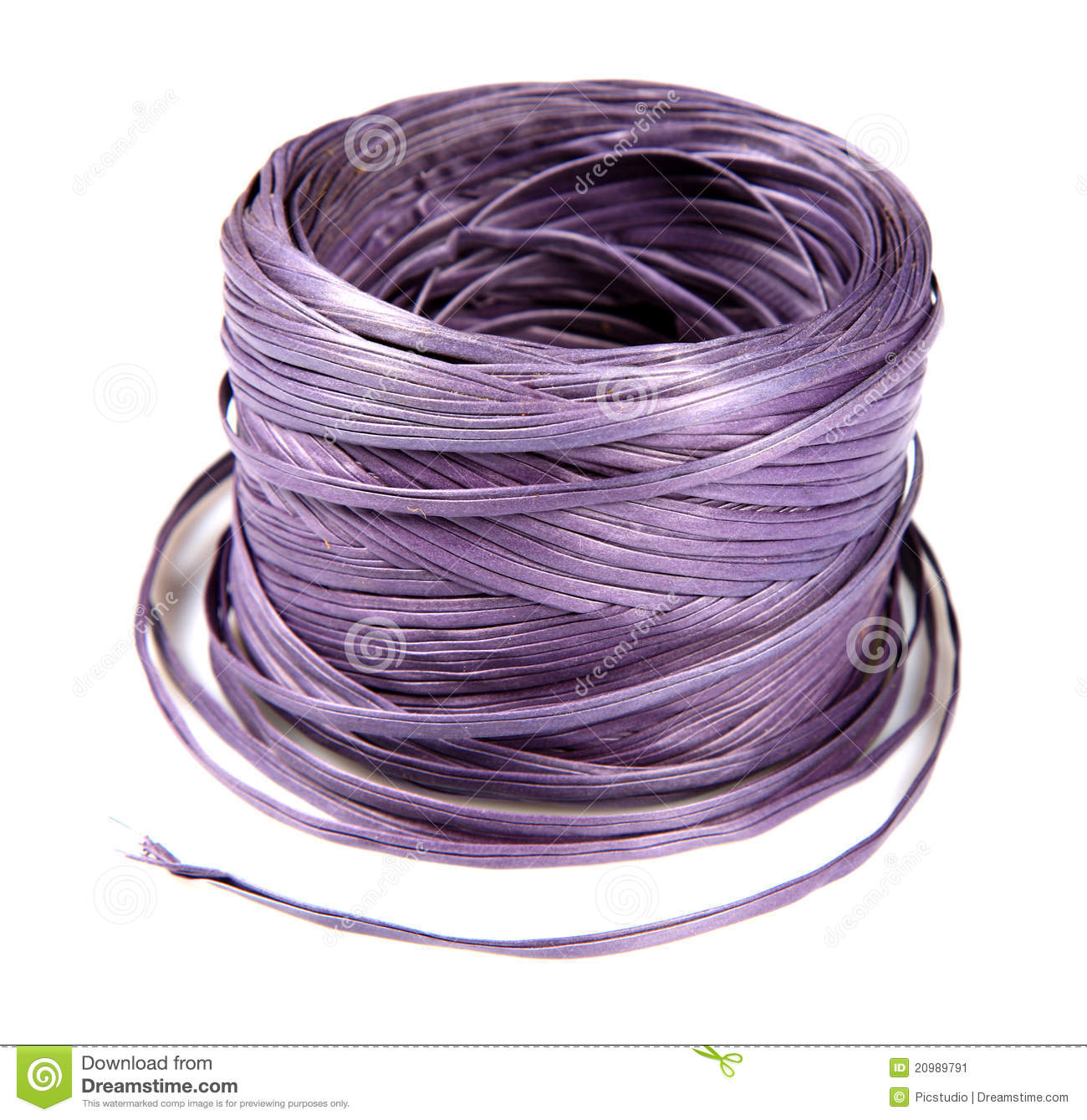 Nylon Rope Stock Image.