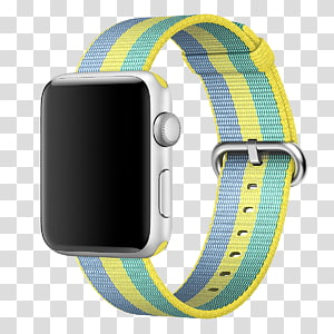 Apple 42mm Woven Nylon Band PNG clipart images free download.