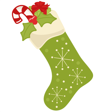 Cute Christmas Stockings Clipart.
