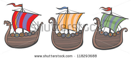 Traditional Boat Viking Stock Photos, Royalty.