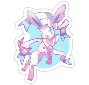 "Nymphali Pastel"" Stickers by catygames."