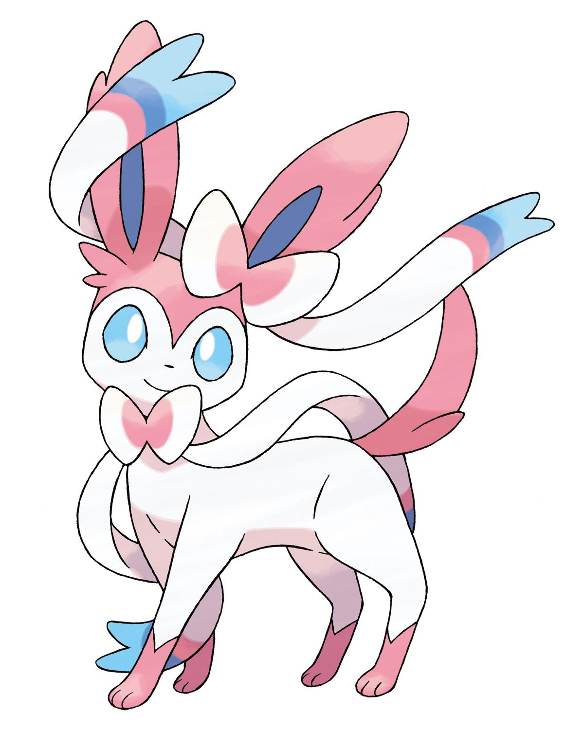 Découvrez une nouvelle évolution d'Evoli dans Pokemon X et Y.