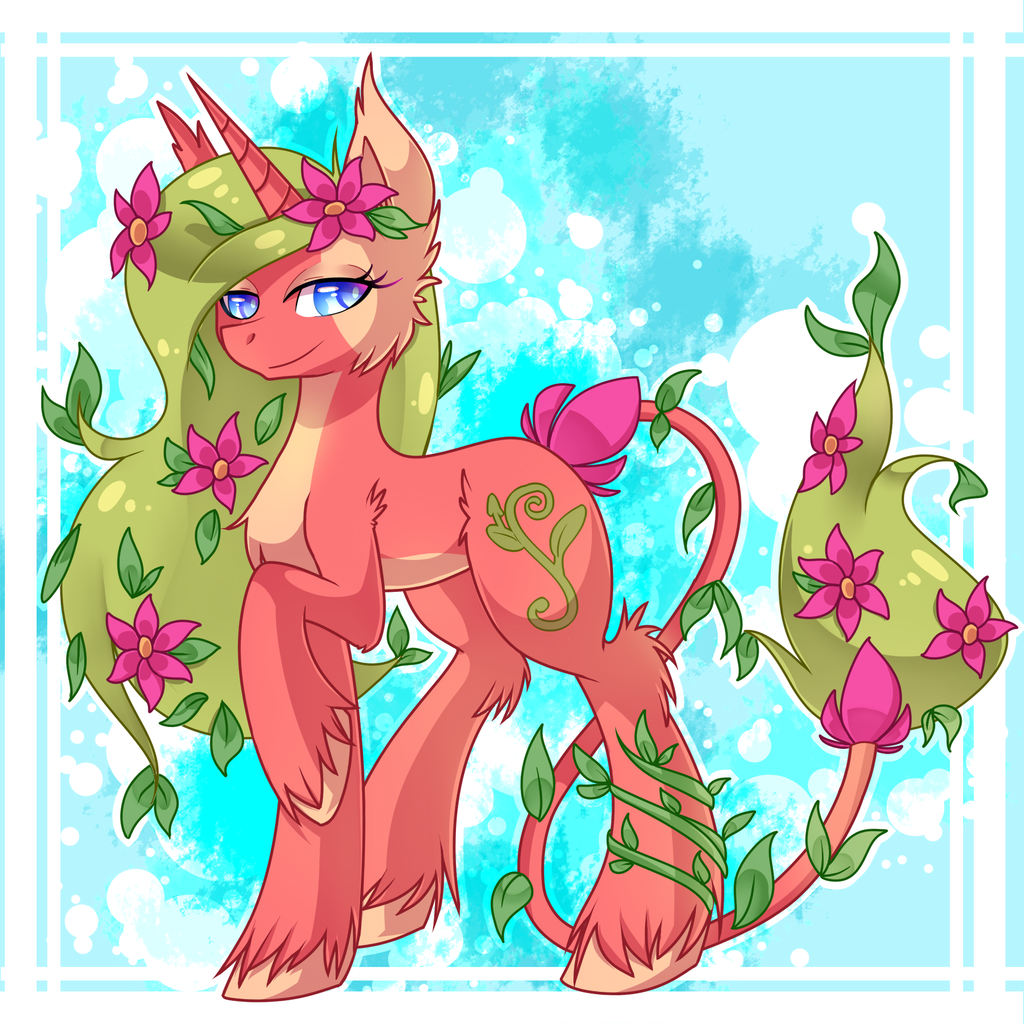 Commission 2/2} Blossom Nymphea for Letquestria by Pancake222 on.