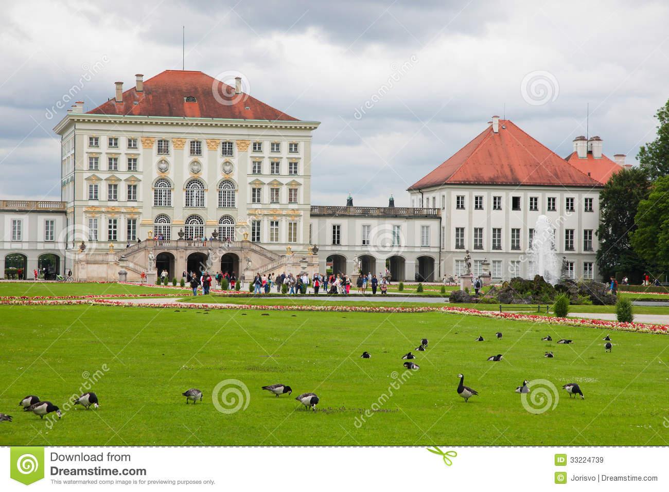 Nymphenburg Palace Editorial Image.